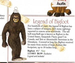 ill take the bigfoot christmas tree ornament please actually jezebel has an article detailing what theyre calling seriously crazy ornaments - Bigfoot Christmas Ornament